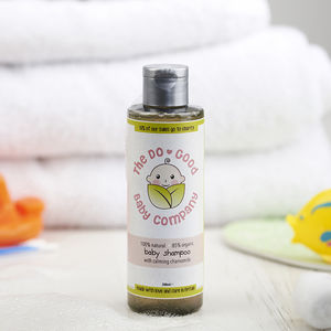 Natural Baby Shampoo With Calming Chamomile