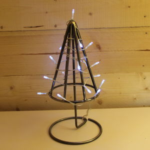 Hand Made Wrought Iron Christmas Tree - view all decorations