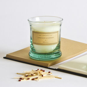 Reviving Juniper And Cedarwood Scented Candle - brand new sellers