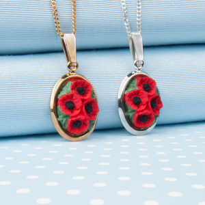 Poppy Pendant Necklace - necklaces & pendants