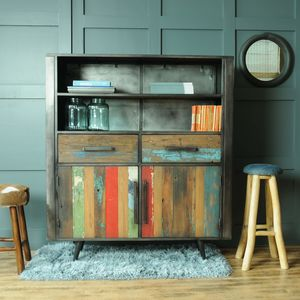 Mariner Two Drawer Two Door Two Shelf Sideboard - furniture