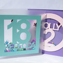 3D Confetti Shaker Birthday Card