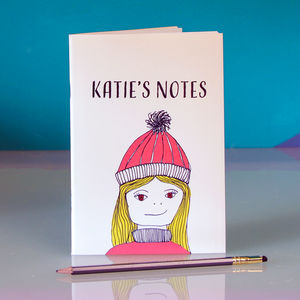 'Happy Hygge' Personalised Notebook
