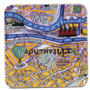 Bristol Map Coaster Southville