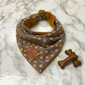 Sol Luxury Dog Bandana Neckerchief - pet clothes & accessories