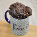 'Piece Of Cake' Chocolate Mug Cake Kit Personalised
