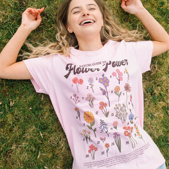 Flower Power Women's Flower Guide T Shirt