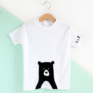 Rabbit Or Bear Personalised T Shirt - clothing