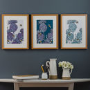 Modern Hand Drawn Scottish Thistle Prints