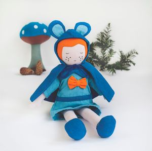 Fair Trade Bluebell Soft Toy Doll - whatsnew