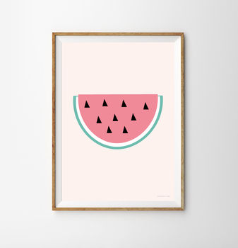 Watermelon Children's Print