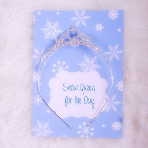 'Snow Queen' For The Day Tiara