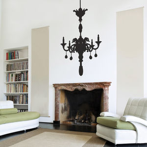 Chandelier Wall Stickers - office & study