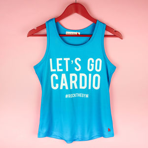 Let's Go Cardio Gym Top
