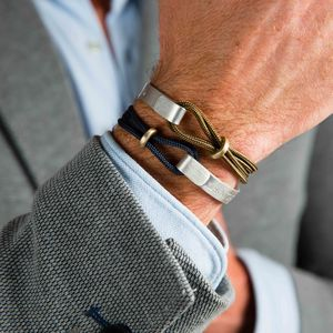 Men's Personalised Rope Bangle - gifts by category