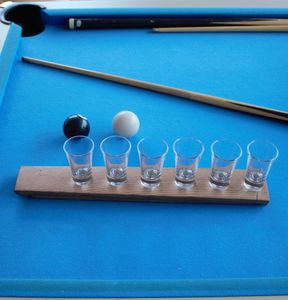 Barrel Stave Shot Glass Holder