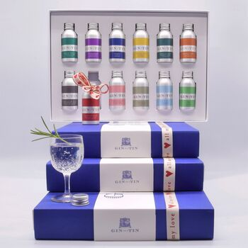 A Box Set Of 12 Stunning Gins