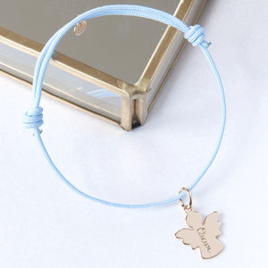 Personalised Christening Bracelet - charm jewellery