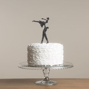Dirty Dancing Wedding Cake Topper - decoration