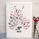 One Love Valentine's Print