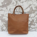 Leather Double Handle Sunda Tote Bag