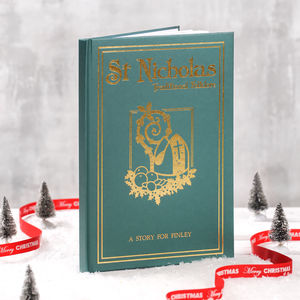 A Personalised Book Of St Nicholas - new in home