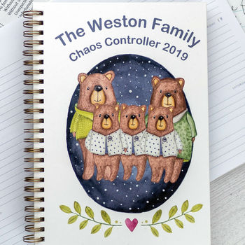 2019 Personalised Diary, Week To View, Chaos Controll