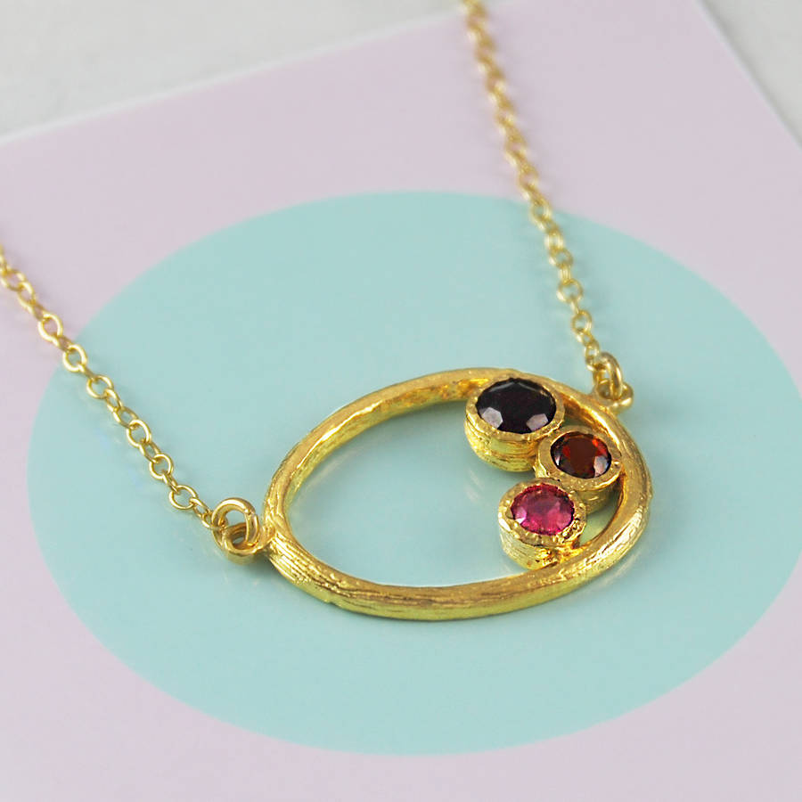 ruby sparkle necklace for birthstone s july store