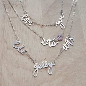 Love You Lots Like Jelly Tots Layered Necklace