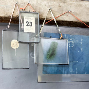 Zinc Hanging Picture Frame - keepsakes