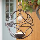 Hand Forged Tangle Hanging Bird Feeder