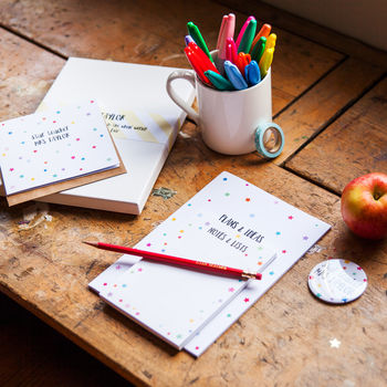 Star Teacher Stationery Gift Set