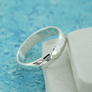 Men's Personalised Gunwalloe Ring - rings