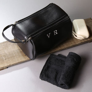 Personalised Mens Wash Bag And Towel Set - gifts for him