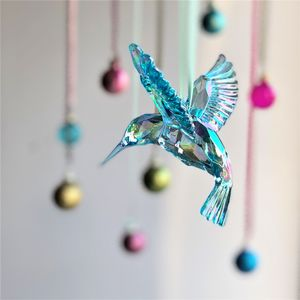 Blue Humming Bird Decoration - decorative accessories