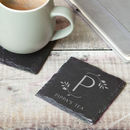 Personalised Coaster Monogram Gift For Her
