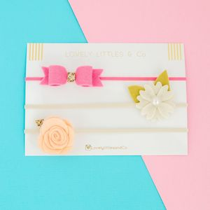 Arya Primrose Hair Band Collection - baby & child