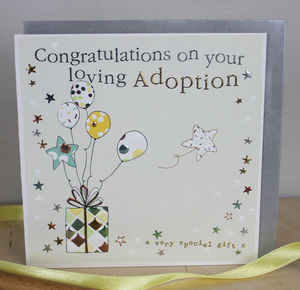 Adoption Card - new baby cards