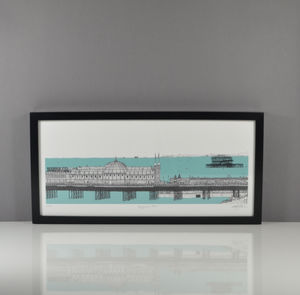 Brighton Pier Print - drawings & illustrations
