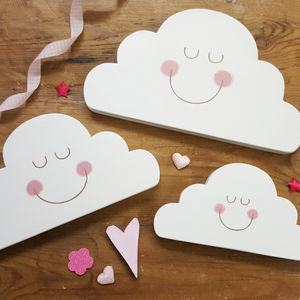 Sleepy Cloud Decorative Accessory