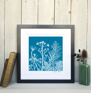 Summer Meadow Number One, Framed Giclee Print - canvas prints & art