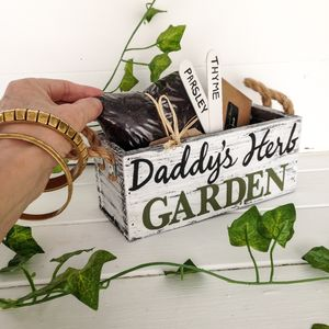 Personalised Father's Day Herb Planter - pots & planters