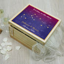 Written In The Stars Keepsake Box
