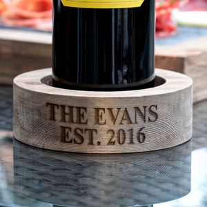Personalised Round Bottle Holder