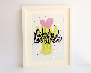 Cactus 'Did My Heart Love Till Now?' Print