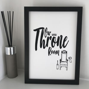 Throne Room Print