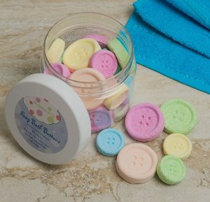 Bath Bomb Buttons - gifts for her