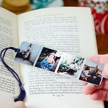 Personalised Special Occasion Metal Photo Bookmark