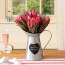 Personalised 10th Anniversary Heart Pitcher Jug