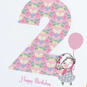 2nd Birthday Card - shop by category